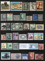 WORLDWIDE---Collection Of USED DL-491 - Stamps