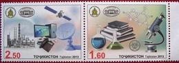 Tajikistan  2013  Academy Of Science,  Space  2 V MNH - Tajikistan