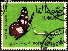 Butterfly And Jet Plane, Somalia Stamp SC#C79 Used - Somalie (1960-...)