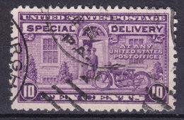 United States 1922 Mi. 258 II C    10c. Special Delivery Express Eilboten Postbote Und Motorrad - Vereinigte Staaten
