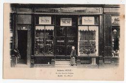 BLOIS  Sellerie Accessoires D'Automobiles  PETIT 11 Rue Denis Papin  2 Scans - Blois