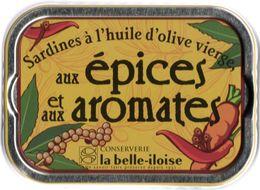 Puxisardinophilie - Boite à Sardines (vide) Aux épices Et Aux Aromates  - La Belle-iloise - Autres Collections