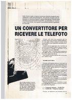 X COMMODORE 64 FOTOCOPIE CONVERTITORE PER RICEZIONE TELEFOTO PROGETTO - Sciences & Technique