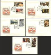 USSR 1967  № 3494-3502 (3585-3593) NATIONAL GALLERY TRETYAKOV - 1923-1991 URSS