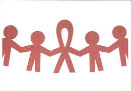 Health - Postcard - Against AIDS - Ulises Ortiz,ICONOS Instituto,Mexico - Santé