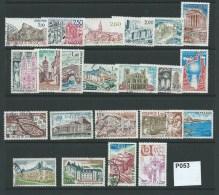 France 1976-89 Tourist Publicity 22 Values - Gebraucht