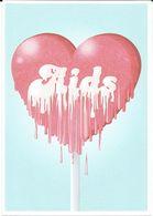 Health - Postcard - Against AIDS - Wojciech Pawliriski & Adrian Lewandowski,Academy Of Fine Arts,Warsaw,Poland. - Santé