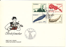 Norway FDC 6-10-1978 Norwegian Folk Musical Instruments Complete With Cachet - FDC