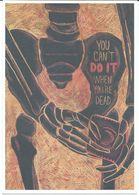 Health - Postcard - Against AIDS - Wyatt Glennon,Kutztown University Of Pennsylvania,USA.condom - Santé
