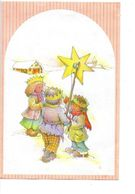 Nieuwjaarsbrief De Klinge   1988 Tekenaar  ? Nieuwjaarbrief Met Afbeelding 3 Koningen Nieuwjaar - New Year