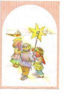Nieuwjaarsbrief De Klinge   1988 Tekenaar  ? Nieuwjaarbrief Met Afbeelding 3 Koningen Nieuwjaar - Nouvel An