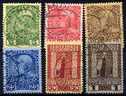 AUSTRIA PO In CRETE ( Kreta)  1908 60th Anniversary Of Accession Used.  Michel 17-22 - Levant Autrichien