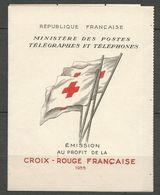 FRANCE CARNET CROIX ROUGE 1955 N° 2004 NEUF**  SANS CHARNIERE  / MNH - Booklets