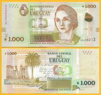 Uruguay 1000 Pesos Uruguayos P-91 2015 (2017) (Serie E) UNC - Uruguay