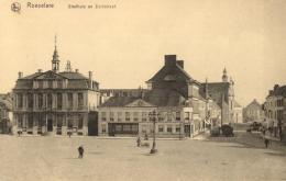 BELGIQUE - ROESELARE -  ROULERS - Stadhuis En Zuidstraat. - Roeselare