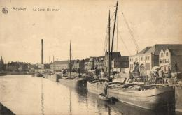 BELGIQUE - ROESELARE -  ROULERS - Le Canal (En Aval). - Roeselare