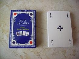 JEU DE 32 CARTES A JOUER MAISON DUVAL - 32 Cartes