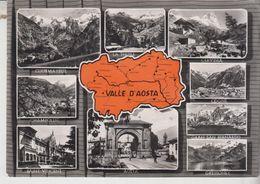 Valle D'aosta Vedute Saluti Courmayeur, Chanpoluc, Aosta, Cogne, Gressoney Vg - Italia