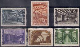 Russia 1947, Michel Nr 1125-1130, MLH OG - 1923-1991 USSR