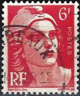 France 1946 - Marianne Of Gandon ( Mi 694 - YT 721 ) - 1945-54 Marianne De Gandon