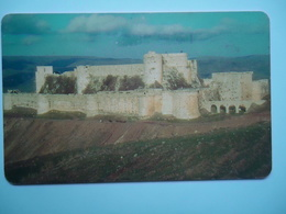 SYRIA USD CARDS   MONUMENTS CASTLE - Syria