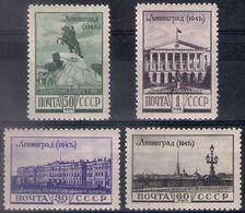 Russia 1948, Michel Nr 1179-82, MLH OG - 1923-1991 USSR