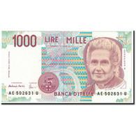 Billet, Italie, 1000 Lire, 1990, KM:114c, NEUF - [ 1] …-1946: Königreich