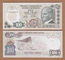 AC - TURKEY - 6th EMISSION 100 TL I UNCIRCULATED - Turkey