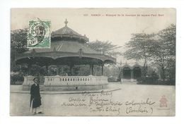 Indochine Vietnam Hanoi Kiosque Paul Bert 2 Scans  Bien Colonies Françaises - Vietnam
