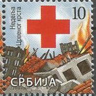 SRB 2015-ZZ72 RED CROSS, SERBIA, 1 X 1v, MNH - Serbien