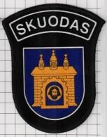 Ecusson / Patch / Toppa / Parche. Europe. EU. Police. Lithuania. City Skuodas. Ex USSR - Police