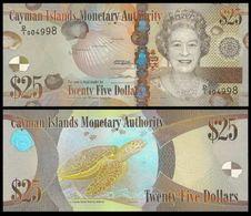Cayman Islands 25 Dollars 2011 UNC - Cayman Islands
