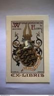 Ex Libris Warenghien De Flory Vis Unita Fortior - Ex-libris