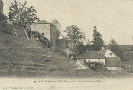 23,Creuse, DUN-le-PALESTEL,Les Moulins De Châtillon, Personnages Scan Recto-Verso - Dun Le Palestel