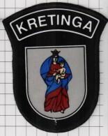 Ecusson. Patch. Toppa. Parche. EU. Police. Lithuania. City Kretinga. - Police