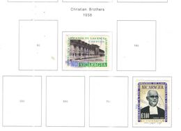 Nicaragua PO 1958 Fratelli Cristiani  Scott.807+812+ Usato/Nuovi On Scott.Album See Scans - Nicaragua
