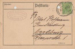"10 061 Postkarte Bahnpost ""HAGEN(WESTF)-ALTENVÖRDE"" 1923 - Oblitérés"