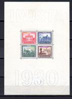 1930 Exposition Philatélique De Berlin  IPOSTA  BF 1*, (trace Charnière Mais Tp Ok), Cote 500 € - Esposizioni Filateliche