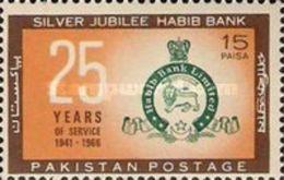 PAKISTAN MNH (**) STAMPS ( The 25th Anniversary Of Habib Bank Ltd -1966) - Pakistan