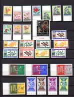 1963   Année 1963 Presque Complète, 13 / 51**, Cote 29,25 €, - Rwanda