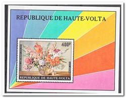 Opper-Volta 1974, Postfris MNH, Flowerpaintings - Opper-Volta (1958-1984)