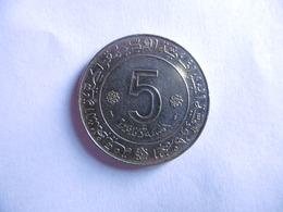 (E112)-ALGERIE-piece De 5 DINAR-1954-1974 - Algérie