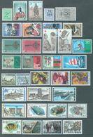 BELGIUM - 1968 - MNH/***LUXE -  JAAR ANNEE YEAR 1968 COMPLETE   - QUOTATION 19.55 EUR - Lot 16180 - Belgique