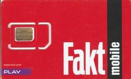 Poland - Fakt Mobile (standard, Micro, Nano SIM) - GSM SIM  - Mint - Poland