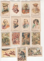 Boules L'Alsacienne. La Guerre Mondiale 1914/1918. Lot De 15 Chromos Différents. Q2 - Autres
