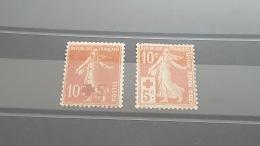 LOT 386494 TIMBRE DE FRANCE NEUF* N°146/147 VALEUR 46 EUROS - France