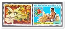 Opper-Volta 1979, Postfris MNH, Flowers, PHILEXAFRIQUE - Opper-Volta (1958-1984)