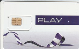 Poland - Play (standard, Micro SIM) - GSM SIM  - Mint - Poland