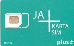 Poland - Plus JA (standard, Micro, Nano SIM) - GSM SIM  - Mint - Poland