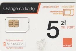 Poland - Orang (standard, Micro SIM) - GSM SIM  - Mint - Poland